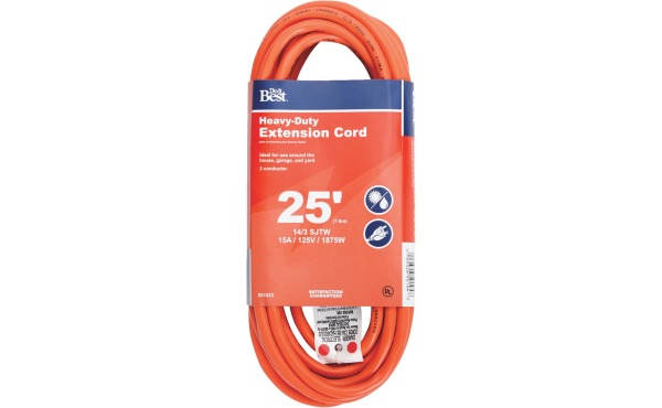 Do it Best 25 Ft. 14\/3 Heavy-Duty Outdoor Extension Cord