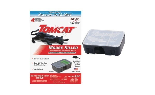 Tomcat Mouse Killer II Disposable Mouse Bait Station (4-Pack)